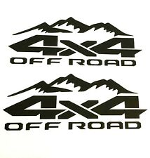 4X4 OFF ROAD STICKER DECAL TRUCK FORD F-150 CHEVY SILVERADO TOYOTA TACOMA TUNDRA