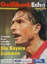 Programm 1995/96 1. FC Köln - Bayern München