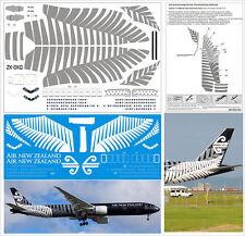 1/144 Boeing 777-300 PAS-DECALS Revell Zvezda Air New Zealand BLAСK