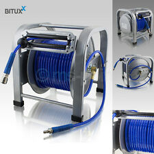 Druckluftschlauch 30 Meter Druckluft Schlauchtrommel 30m Automatik Trommel NEU