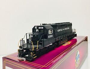 MTH #20-21316-1 Norfolk & Western SD40-2 Diesel Engine #6080 w/PS 3.0 3 Rail NEW