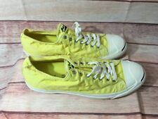 Jack Purcell Converse Yellow Canvas 16.5 euc