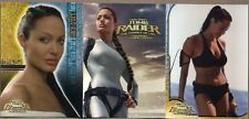 TOMB RAIDER 2 CRADLE OF LIFE MOVIE ANGELINA JOLIE COMPLETE 81 CARD BASE SET+WRAP