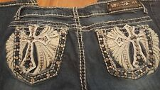 Womens Miss Chic Western Jeans look like Miss Me Size 11
