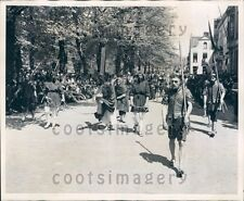 1947 Life of Christ Procession Bruges Belgium  Press Photo