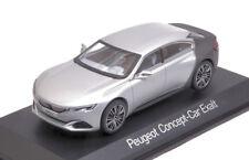 Norev 1/43 DCST PEUGEOT Concept Car Exalt Salone de Paris 2014 Argento/grigio