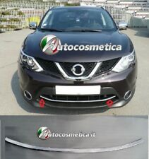 Modanatura profilo acciaio cromo croma cornice paraurto per Nissan Qashqai 14-17