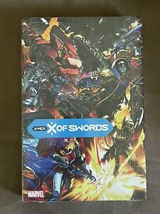 X of SWORDS X-MEN OHC OMNIBUS HARDCOVER MARVEL COMICS HICKMAN NEW SEALED