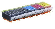 15 NEW Pack Ink Set for PGI-220 CLI-221 Canon MP540 iP3600 MP630 MX860