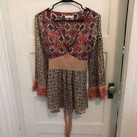 Odd Molly Silk Blouse Size 2