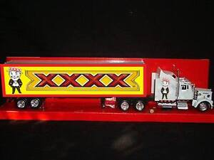 Fourex XXXX Man Bar Pool Room Custom Beer Kenworth W900 Truck 1/43