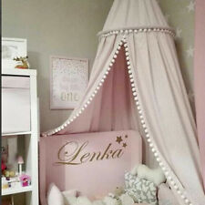 Kids Girls Boy Princess Bed Canopy Mosquito Net Reading Play Tent Room Pink