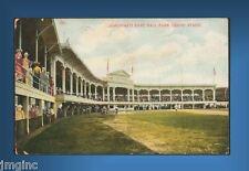 Cincinnati Reds Ball Park Postcard reproduction - Postmarked 10/15/1908