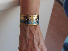 OCCHIO DI HORUS - Bracciale donna in ottone