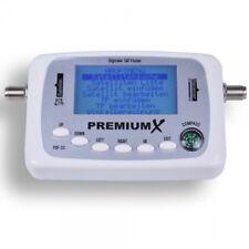 PremiumX Digitaler Sat Finder PXF-33 mit LCD-Display Satellitenerkennung Kompass
