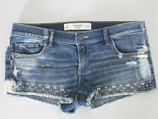 Abercrombie Shorts with Stud and Rhinestone Detail / Size 6 (28) / Brand New