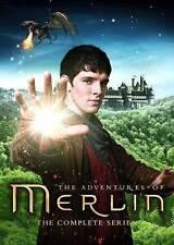 Merlin: The Complete Series (DVD, 2014, 24-Disc Set) W/Bonus Features