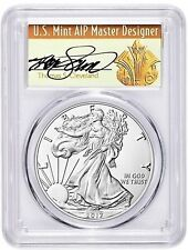 2017-W SILVER EAGLE PCGS SP70 THOMAS CLEVELAND FIRST DAY OF ISSUE POPULATION 300