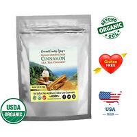 Organic Ceylon Cinnamon Powder True Cinnamon from Ceylon 3.5 oz for Capsules
