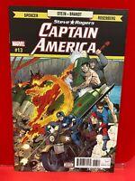 Captain America: STEVE ROGERS  #13 2017 MarveL COMICS C2