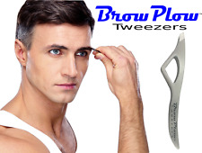 Brow Plow Tweezers - Best Precision Slant - See Our WIN-EITHER-WAY Promise