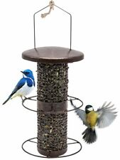 Sorbus Bird Feeder – Circular Perch Hanging Feeder for Finches Bird Seed and.