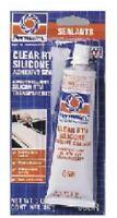 ITW, Permatex, 3 OZ Tube, Clear RTV Silicone Adhesive Sealant