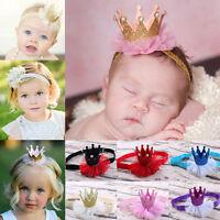 Baby/Kids Girl Princess Queen Rhinestone Tiara Hair Band Headband Crown Headwear