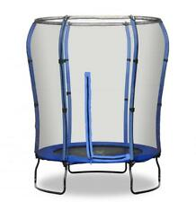 Rebo 4.5FT Trampoline the Safe Jump With HALO Safety Enclosure - 2 Colours