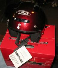 G-Max Snell M2000 DOT Motorcycle Helmet, Removable Head Liner,Air Vents,Size: XS