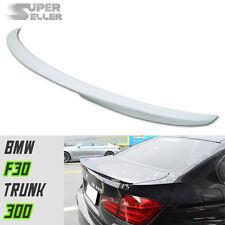 Painted 300 White BMW 328i F30 Sedan Performance P-Type Rear Truink Spoiler 2018