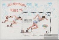 Laos Block115 (kompl.Ausg.) postfrisch 1987 Olympische Sommerspiele ´88