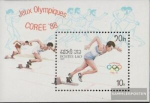 Laos Block115 (complete issue) unmounted mint / never hinged 1987 Olympics Summe
