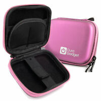 Pink Hard EVA Case with Carabiner Clip & Twin Zips for Sony Smartwatch 3 SWR50