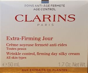 Clarins Extra Firming Jour Wrinkle Control Firming Day Cream For All Skin 50ml