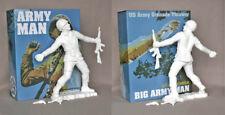 "Frank Kozik 17"" 2009 White Big Army Man LE 50 VINYL ULTRAVIOLENCE BUST RARE"