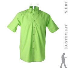 Camisas casuales de hombre verde talla M