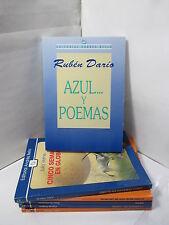 AZUL... Y POEMAS Spanish Poetry Literature Libros en Espanol