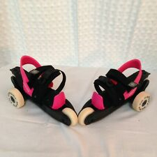 Cardiff Skate Co. Cruiser 3-Wheel Adjustable Size Youth Skates Hot Pink