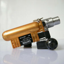 Windproof Butane Jet Torch Gas Refillable Smoking Cigar Cigarette Lighter 136 CP