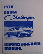 1970 Dodge Challenger Wiring Diagram Manual