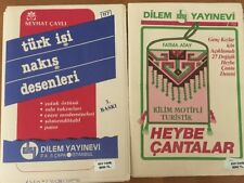 2 Dilem Yayinevi Patterns #150 Fatma Atay & #117 Seyhat Cayli