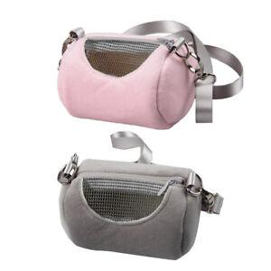 2Pcs Pet Pocket Travel Shoulder Bag Accessories Hamster Gerbil Rat Ferret