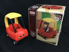 1989 LITTLE TIKES PLACE COZY COUPE CAR WITH BOX, DOLLHOUSE, NICE CONDITION.