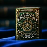High Victorian Playing Cards Limited Edition Green & Gold Foil Deck by Theory11