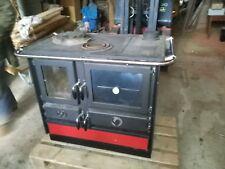 Küchenofen Kaminofen Holz Heizung Ofen wasserführend 17 KW
