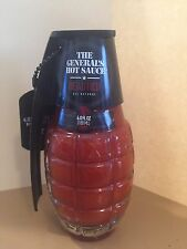 THE GENERAL'S HAND GRENADE DEAD RED HOT SAUCE 6oz  FROM SCORCHED LIZARD