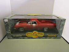 ERTL 1:18 AMERICAN MUSCLE RED 1970 CHEVY EL CAMINO SS 454 NEW IN BOX