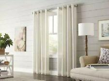 allen + roth Timblin 84-in Polyester Light Filtering Curtain - Cobbleston