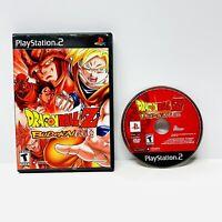 Dragon Ball Z Budokai 1 Black Label Sony Playstation 2 PS2 Tested Works